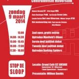 Verkiezingsdebat Centrumvisie door SOS Hilversum