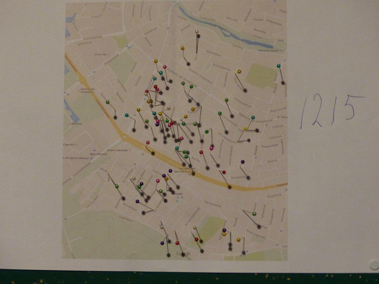 prikkers in kaart heikracht