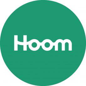 HOOM logo-groen