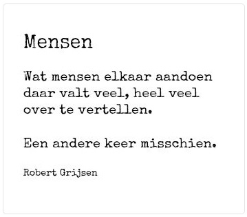 Mensen - Robert Grijsen 17juni
